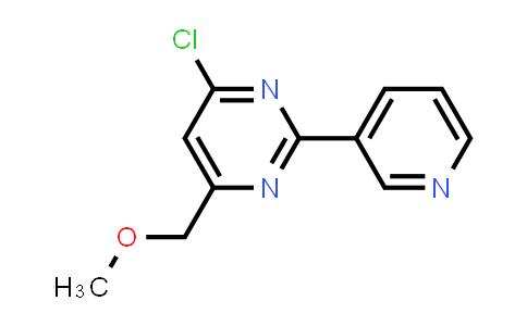 339279-00-4 | 4-CHLORO-6-(METHOXYMETHYL)-2-(3-PYRIDYL)PYRIMIDINE