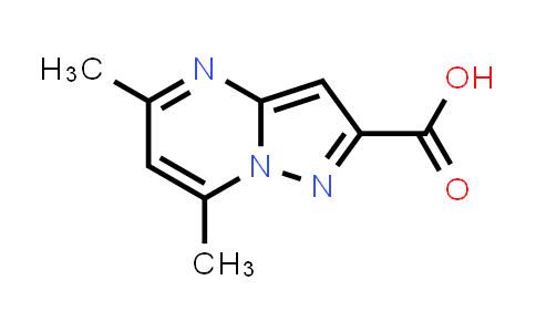 300691-07-0 | 5,7-DIMETHYLPYRAZOLO[1,5-A]PYRIMIDINE-2-CARBOXYLIC ACID