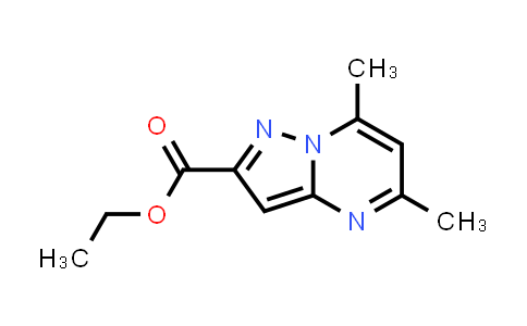 1263285-54-6 | 5,7-Dimethyl-pyrazolo[1,5-a]pyrimidine-2-carboxylic acid ethyl ester