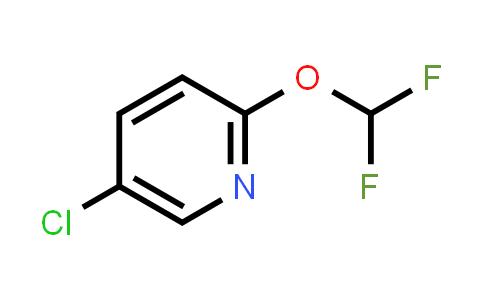1214323-40-6 | 5-chloro-2-(difluoromethoxy)pyridine