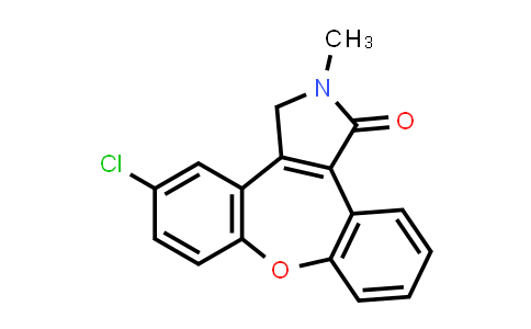 934996-79-9 | 5-chloro-2-methyl-2,3-dihydro-1H-dibenzo[2,3:6,7]oxepino[4,5-c]pyrrol-1-one