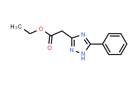 866136-08-5 | 5-phenyl-1H-1,2,4-Triazole-3-acetic acid ethyl ester