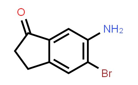 611240-66-5 | 6-Amino-5-bromo-2,3-dihydro-1H-inden-1-one