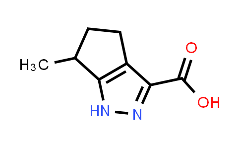 856256-49-0 | 6-methyl-1,4,5,6-tetrahydrocyclopenta[c]pyrazole-3-carboxylic acid