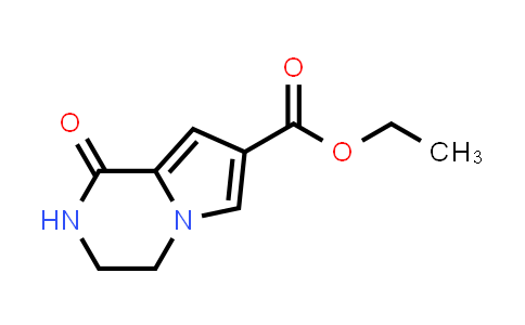 DY459904 | 1338563-13-5 | ethyl 1-oxo-1H,2H,3H,4H-pyrrolo[1,2-a]pyrazine-7-carboxylate
