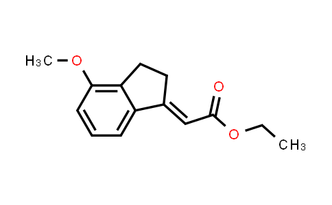 724466-12-0 | ethyl 2-(4-methoxy-2,3-dihydro-1H-inden-1-ylidene)acetate