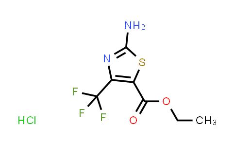 31119-10-5   ethyl 2-amino-4-(trifluoromethyl)-1,3-thiazole-5-carboxylate hydrochloride