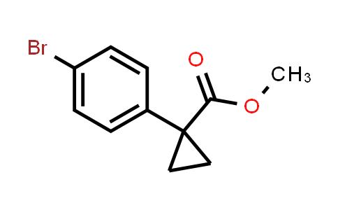MC459953 | 1372197-49-3 | Methyl 1-(4-bromophenyl)cyclopropanecarboxylate