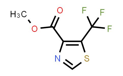 1698908-74-5   methyl 5-(trifluoromethyl)-1,3-thiazole-4-carboxylate