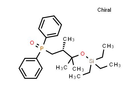 1227926-70-6 | Phosphine oxide, [(2R)-2,3-diMethyl-3-[(triethylsilyl)oxy]butyl]diphenyl-