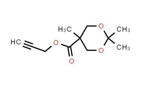 873849-85-5   prop-2-yn-1-yl 2,2,5-trimethyl-1,3-dioxane-5-carboxylate