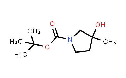 DY459994 | 412278-02-5 | tert-Butyl 3-hydroxy-3-Methylpyrrolidine-1-carboxylate