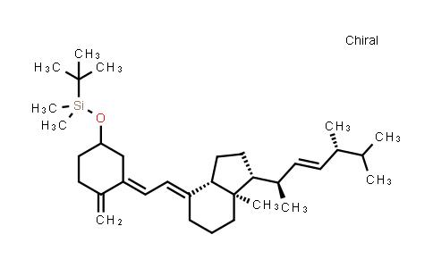 DY459996 | 104846-63-1 | tert-butyl((E)-3-((E)-2-((1R,3aS,7aR)-1-((2R,5R,E)-5,6-dimethylhept-3-en-2-yl)-7a-methyldihydro-1H-inden-4(2H,5H,6H,7H,7aH)-ylidene)ethylidene)-4-methylenecyclohexyloxy)dimethylsilane