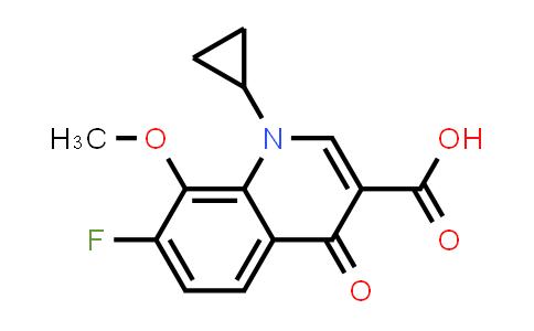221221-16-5 | 1-cyclopropyl-7-fluoro-8-methoxy-4-oxo-1,4-dihydroquinoline-3-carboxylic acid