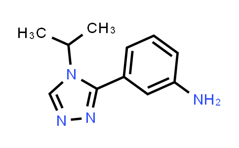 MC460028 | 1248171-73-4 | 3-(4-isopropyl-4H-1,2,4-triazol-3-yl)benzenamine