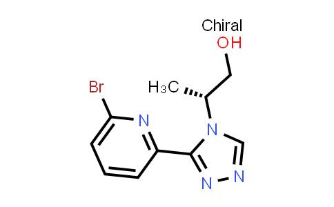 2089624-53-1 | (R)-2-(3-(6-bromopyridin-2-yl)-4H-1,2,4-triazol-4-yl)propan-1-ol