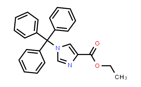 53525-60-3 | Ethyl 1-trityl-1H-iMidazole-4-carboxylate