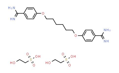 659-40-5   Hexamidine Diisethionate
