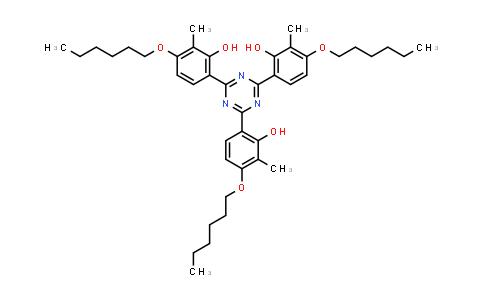 222529-65-9 | 2,2,2-(1,3,5-Triazine-2,4,6-triyl)tris[5-(hexyloxy)-6-methylphenol]