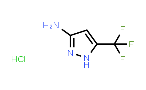 1418117-74-4 | 3-AMino-5-(trifluoroMethyl)pyrazole Hydrochloride