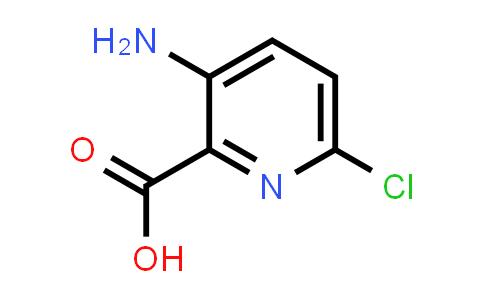 866807-27-4   3-Amino-6-chloropyridine-2-carboxylicacid