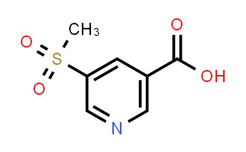 893723-59-6 | 5-(Methylsulfonyl)nicotinic Acid
