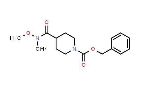 148148-48-5   BENZYL 4-(N-METHOXY-N-METHYLCARBAMOYL)PIPERIDINE-1-CARBOXYLATE