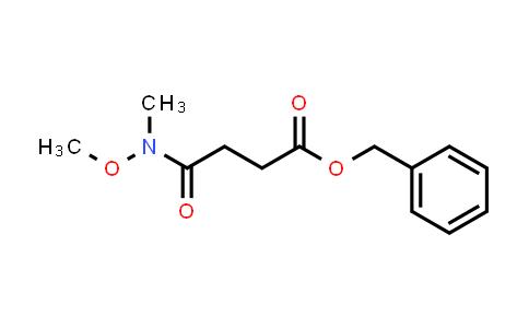 1260760-22-2 | Benzyl 4-[Methoxy(Methyl)aMino]-4-oxobutanoate