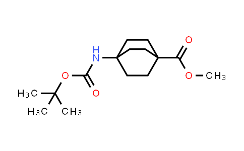 943845-74-7 | methyl 4-((tert-butoxycarbonyl)amino)bicyclo[2.2.2]octane-1-carboxylate