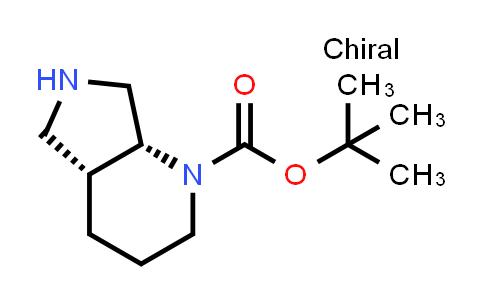 186201-89-8   TERT-BUTYL (4AR,7AR)-OCTAHYDRO-1H-PYRROLO[3,4-B]PYRIDINE-1-CARBOXYLATE