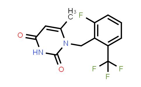 830346-47-9 | 1-(2-Fluoro-6-trifluoromethyl-benzyl)-6-methyl-1H-pyrimidine-2,4-dione