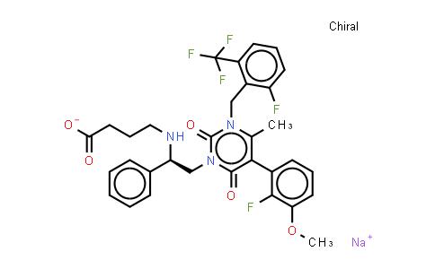 832720-36-2   Elagolix sodium