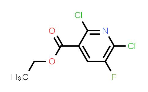 82671-03-2 | ethyl 2,6-dichloro-5-fluoropyridine-3-carboxylate