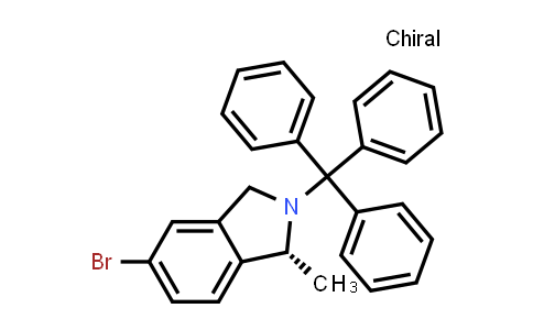 194805-14-6 | (R)-5-bromo-1-methyl-2-Tritylisoindoline