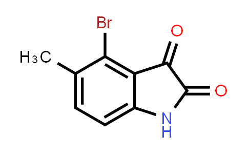 147149-84-6   4-溴-5-甲基-2,3-二氢吲哚二酮