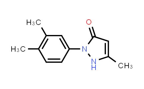 18048-64-1 | 3-甲基-1-(3,4-二甲基苯基)-2-吡唑啉-5-酮