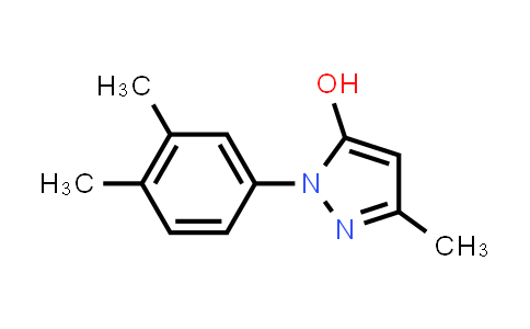 925633-57-4 | 1-(3,4-diMethylphenyl)-3-Methyl-1H-Pyrazol-5-ol