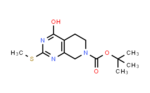 MC460313 | 338739-81-4 | tert-butyl 4-hydroxy-2-(methylthio)-5,8-dihydropyrido[3,4-d]pyrimidine-7(6H)-carboxylate
