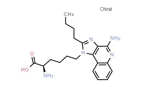 DY460320 | 2170549-01-4 | (R)-2-amino-6-(4-amino-2-butyl-1H-imidazo[4,5-c]quinolin-1-yl)hexanoic acid