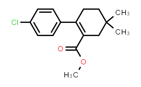 1027345-20-5 | methyl 4'-chloro-4,4-dimethyl-3,4,5,6-tetrahydro-[1,1'-biphenyl]-2-carboxylate