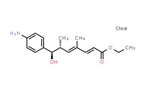 934246-97-6 | ethyl (2E,4E,6R,7R)-7-(4-aminophenyl)-7-hydroxy-4,6-dimethylhepta-2,4-dienoate