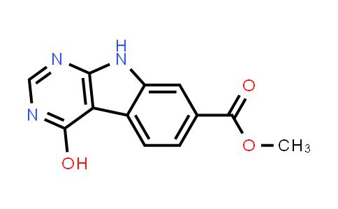 DY460334 | 1096471-96-3 | methyl 4-hydroxy-9H-pyrimido[4,5-b]indole-7-carboxylate