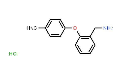 1171318-10-7   2-(4-METHYLPHENOXY)BENZYLAMINE HCL