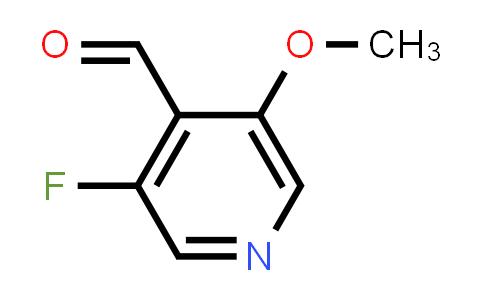 1256792-34-3 | 3-Fluoro-5-Methoxypyridine-4-carbaldehyde