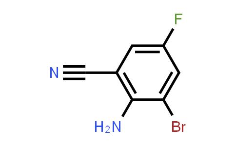 1403667-47-9 | 2-Bromo-6-cyano-4-fluoroaniline, 3-Bromo-5-fluoroanthranilonitrile