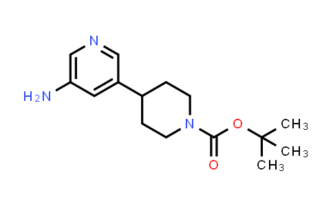 762298-12-4 | tert-butyl 4-(5-aminopyridin-3-yl)piperidine-1-carboxylate