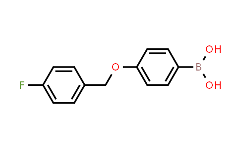 871125-82-5 | 4-(4'-FLUOROBENZYLOXY)PHENYLBORONIC ACID