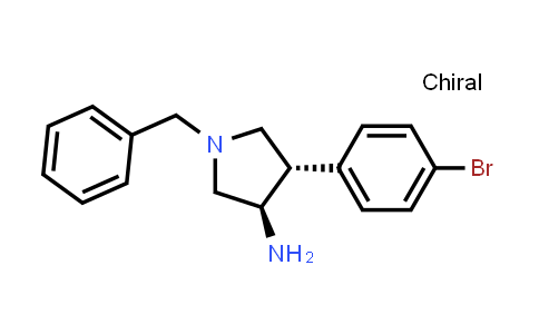 875931-76-3 | rel-(3R,4S)-1-Benzyl-4-(4-bromophenyl)pyrrolidin-3-amine
