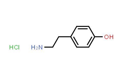 60-19-5 | Tyramine hydrochloride