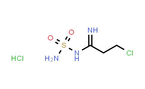 106649-95-0   N-Sulphamyl-3-chloropropionamidine hydrochloride